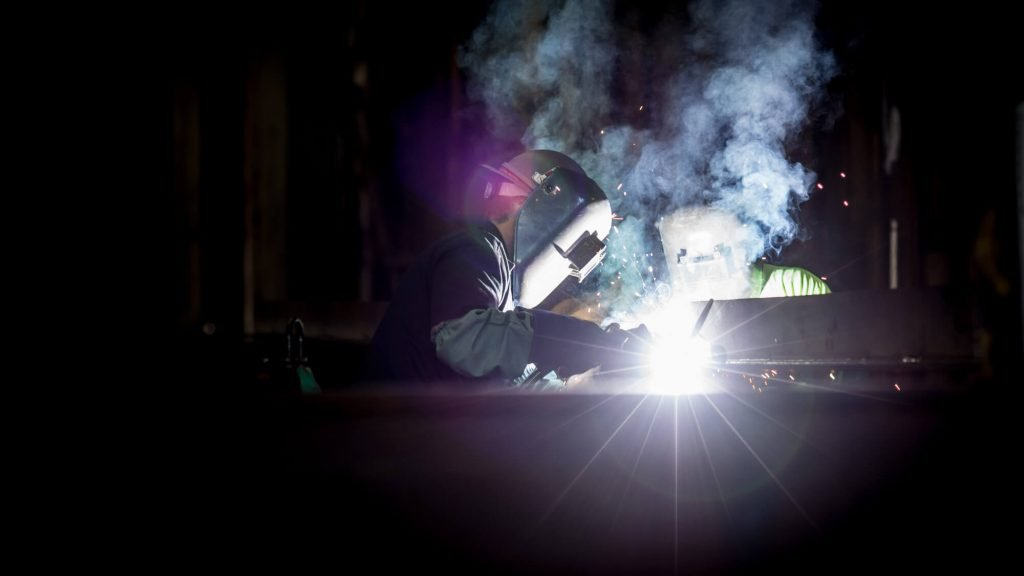 Welding operator at work - Photo by Pete Wright on Unsplash